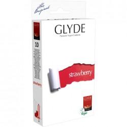 GLYDE Préservatifs Ultra à la myrtille pack de 10