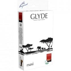 GLYDE Préservatifs Maxi Rouge pack de 10