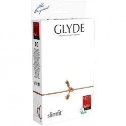 GLYDE Préservatifs Ultra Slimfit extra fins pack de 10