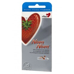 RFSU Préservatifs NAM NAM Fraise pack de 10