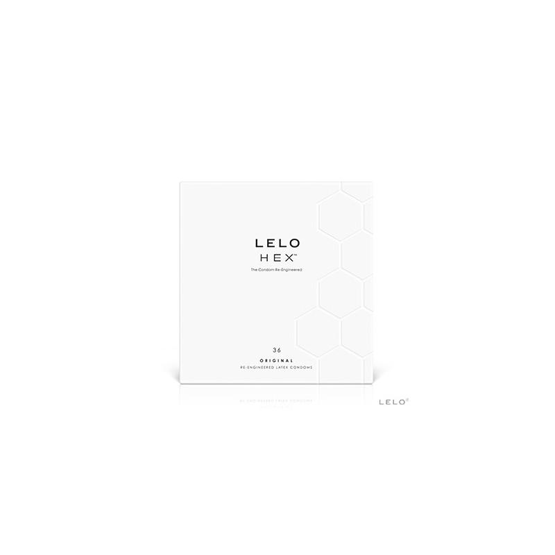 36 Préservatifs HEX Original de Lelo