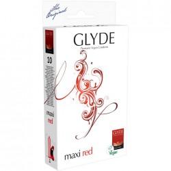 Préservatifs GLYDE Maxi Rouge boite de 10