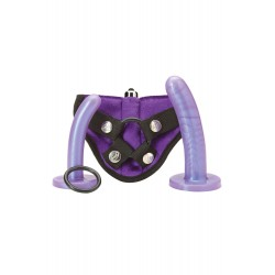 Tantus Set de Godes Ceinture vibrants Bend Over Violet